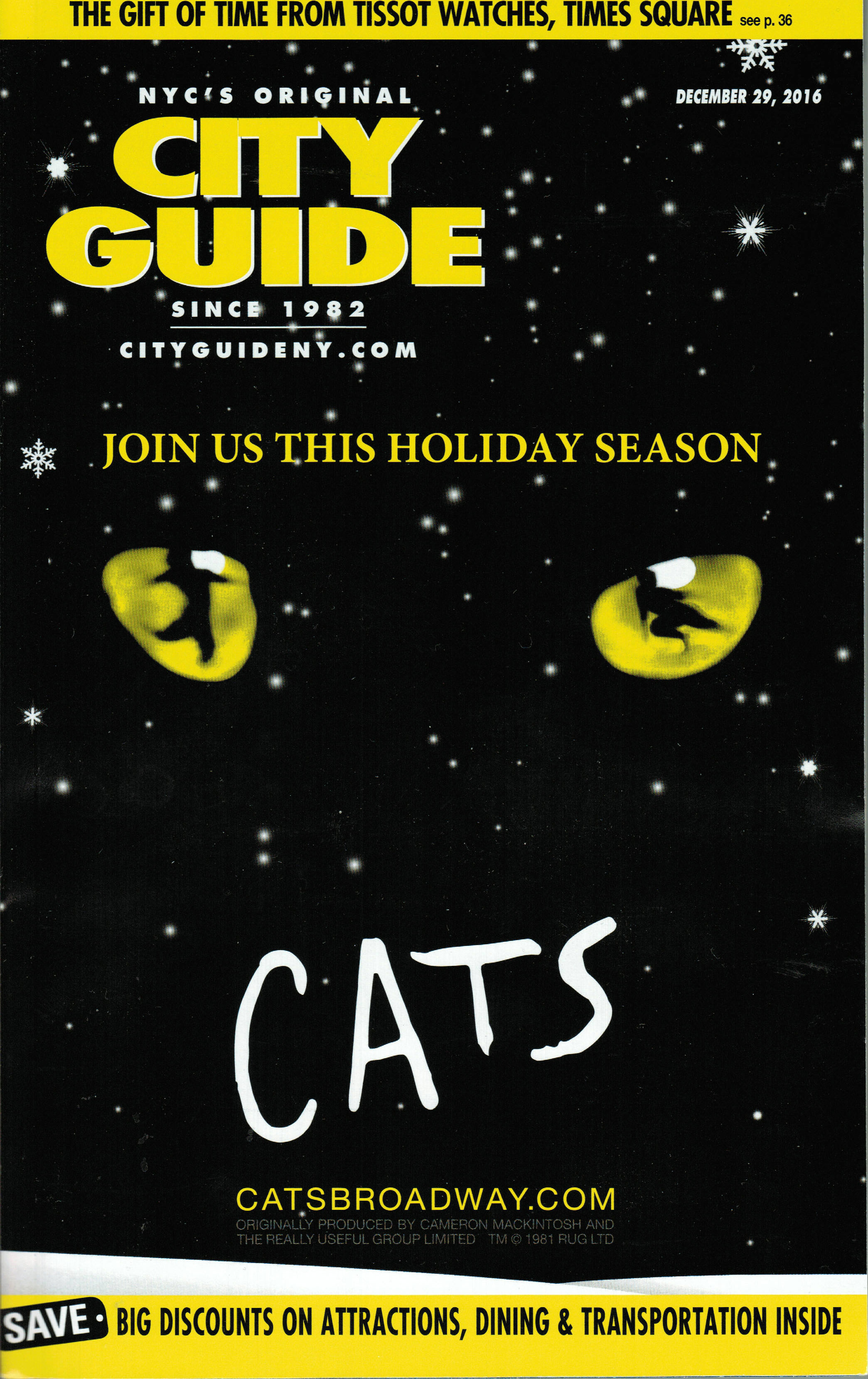 """Cats On Broadway: One For The €�memory"""" Book"""
