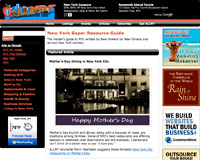 Mother's Day Dining in New York City