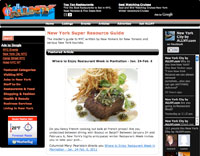 Where to Enjoy Restaurant Week in Manhattan – January 24-February 6, 2011