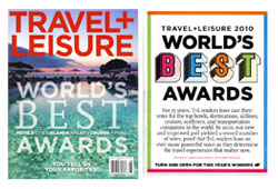 Travel + Leisure July 2010